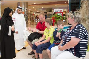 Tadweer Concludes Environmental Awareness Campaign in Shopping Malls across Abu Dhabi