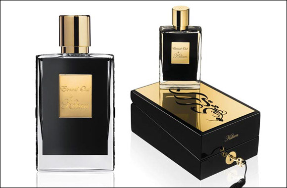 Kilian launches a new perfume to his Middle East exclusive collection, the Eternal Oud, now available at Paris Gallery