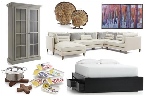 Crate and Barrel Introduces Fall 2014 Collection.