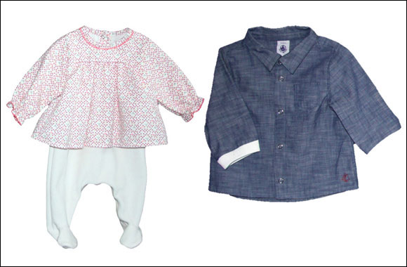 Dress your little one up for the season of celebration with Petit Bateau's Festive collection!