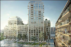 �London Dock' will be unveiled at Cityscape Global: Chestertons