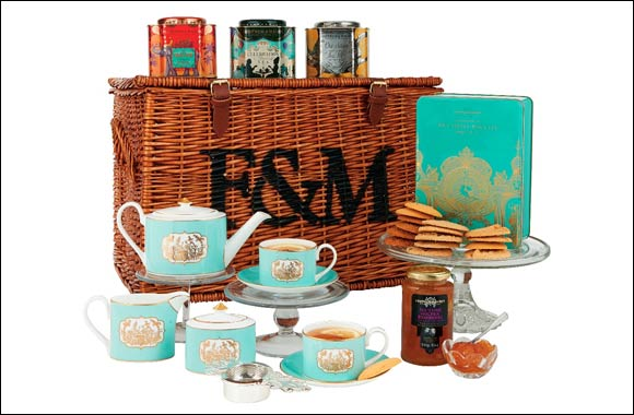 The perfect gift for newly-weds is timelessly elegant silver and china from Fortnum & Mason