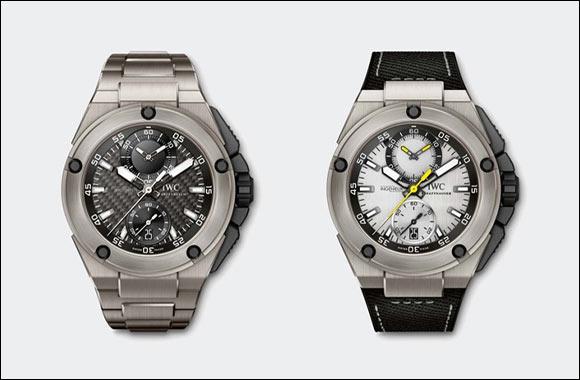 Nico Rosberg and Lewis Hamilton present their own IWC watches