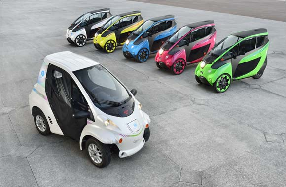 Toyota Redefines Urban Mobility With The Launch Of Ultra Compact Electric Vehicles For Public Car Sharing