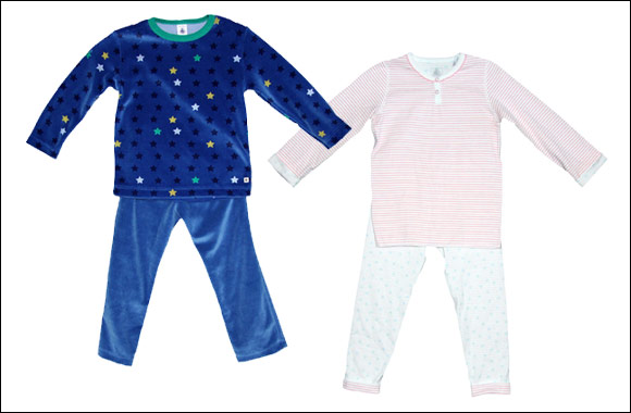Let your little one slumber comfortably in Petit Bateau's Nighty Night collection!