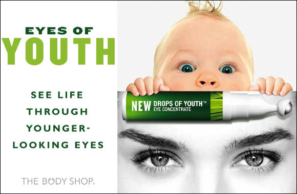 NEW Drops of Youth Eye concentrate by The Body Shop