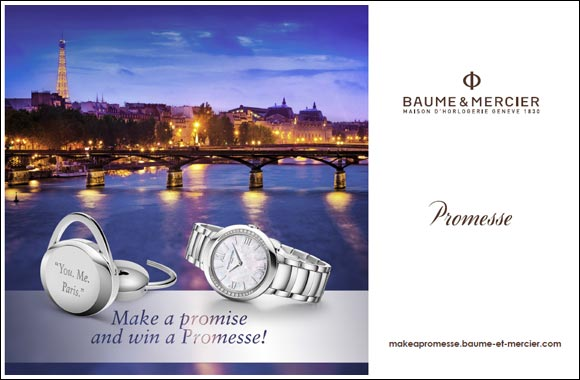 "A ""PROMESSE"" to seal precious moments with Baume & Mercier"
