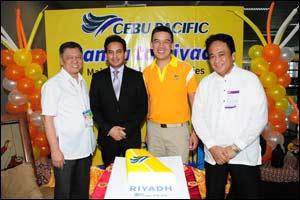 Cebu Pacific launches first destination in KSA