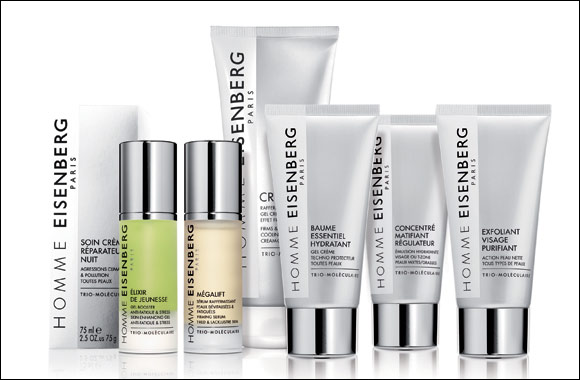 EISENBERG's Men's skincare collection, exclusively at Paris Gallery UAE