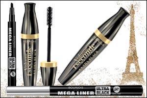 BOURJOIS Volume 1 Second Ultra Black Mascara & Mega Liner Ultra Black