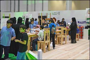Tadweer Participates in National Show for Society Awareness and Humanitarian Services