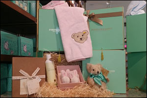 Find the perfect gifts for little bundles of joy in Fortnum & Mason's darling baby hampers