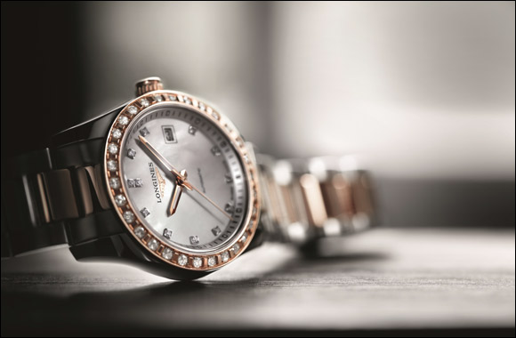 Mark their most special day with the perfect gift of time: Longines Conquest Classic