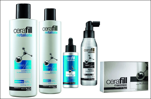 Thinning hair, beware. Introducing NEW CERAFILL Powered by Redken Science!
