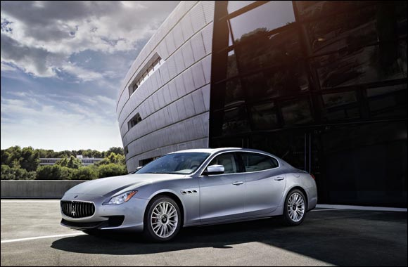 New Maserati Quattroporte featuring bi-turbo V6 engine with 330 hp arrives at Al Tayer Motors and Premier Motors showrooms in the UAE