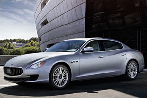New Maserati Quattroporte featuring bi-turbo V6 engine with 330 hp arrives at Al Tayer Motors and Pr ...