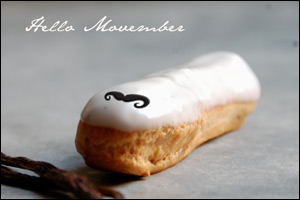 Sweet Solidarity: Eclair Announces Participation in Movember Campaign