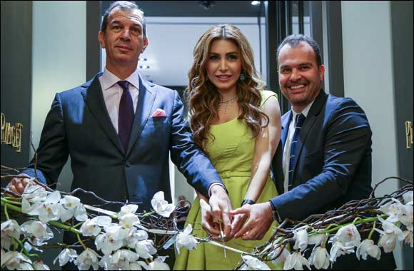 Piaget opens its new boutique in Dubai in the presence of Brand Ambassador of the Middle East, Yara.