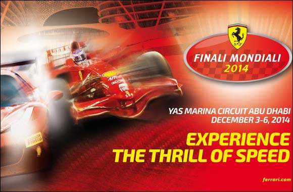 Ferrari: Finali Mondiali from 3 to 6 December in Abu Dhabi