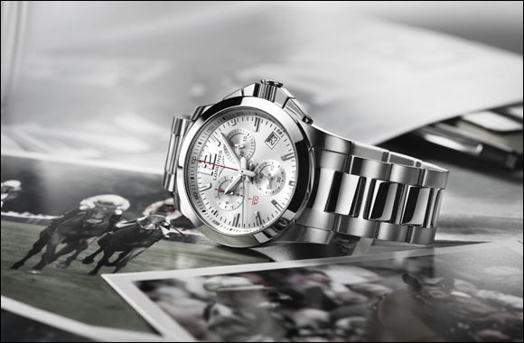 Longines continues its tradition as timekeeper for equestrian sports with the Conquest 1/100th Horse Racing