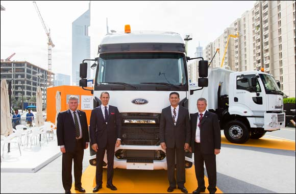 Al Tayer Motors Launches Ford Trucks in the UAE at Big 5