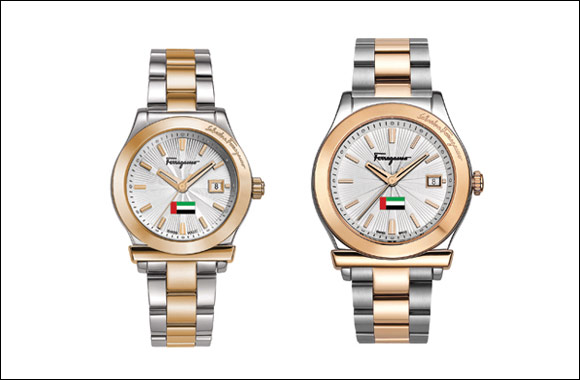 Salvatore Ferragamo unveils the special-edition Ferragamo 1898 watch in celebration of the 43rd UAE National Day