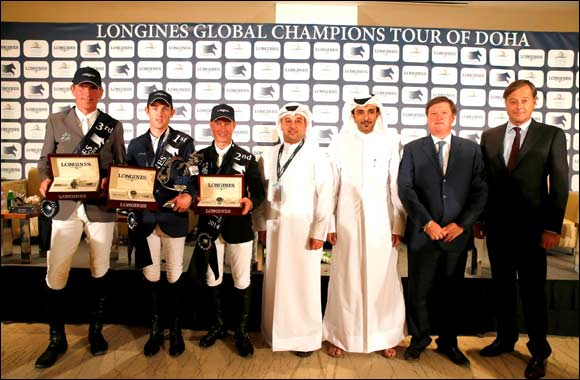 Doha hosts the climax of the Longines Global Champions Tour 2014