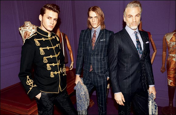 New men's collection of Autumn - Winter 2014 - 2015 by ETRO