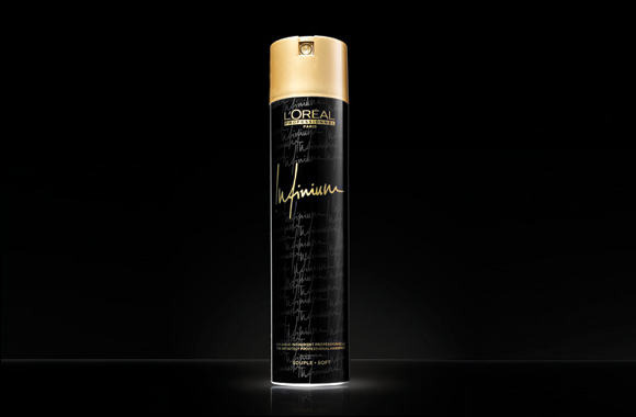 INFINIUM The infinitely professional hairspray by L'Oreal