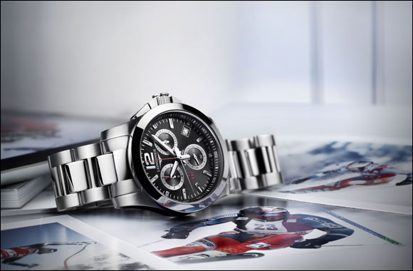 Conquest 1/100th Alpine Skiing, the chronograph precise to one hundredth of a second dedicated to alpine skiing