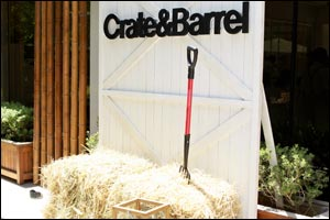 Crate and Barrel Farm to Table Event