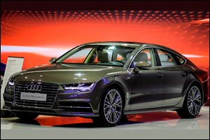 Al Nabooda Automobiles exclusively debuts new sleek and stylish Audi A7 at International Automobile  ...