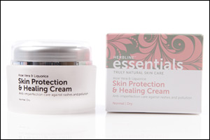 Family Care and Protection With Herbline Essentials Skin Protection & Healing Cream
