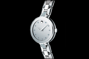 Movado Sapphire Stainless Steel