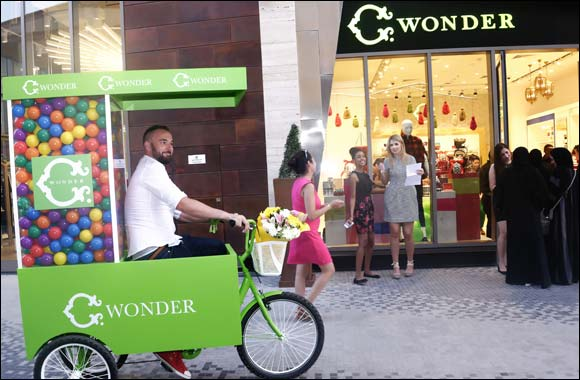 C. Wonder celebrates second store opening at The Beach, JBR.