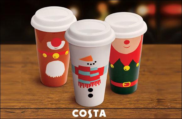 Costa Christmas Travel Mug