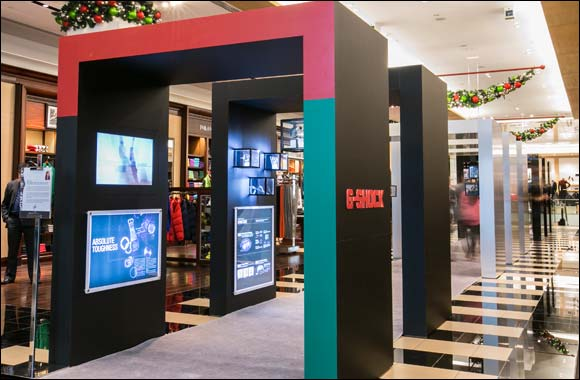 Make Time: Bloomingdale's-Dubai and G-Shock introduce a limited edition watch to mark UAE National Day