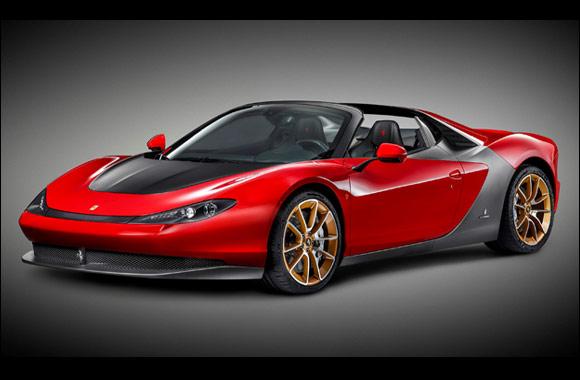 The first Ferrari Sergio arrives in the UAE