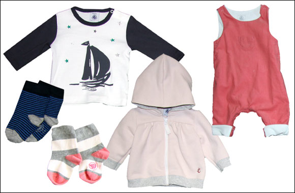 With Petit Bateau, your little one will be the most fashionable tot on their play date