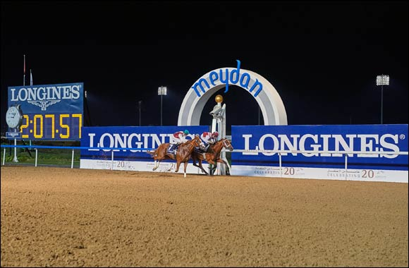 Longines returns to Meydan for the third race meeting of the season