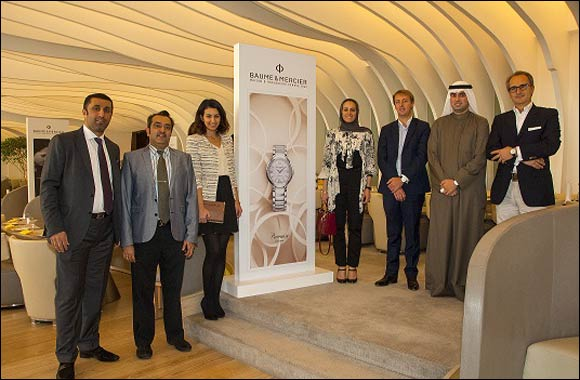 Baume & Mercier collaborates with partners Behbehani Group to launch Promesse in Kuwait