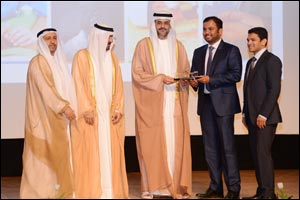 Crown Prince of Sharjah honors Malabar Gold & Diamonds for outstanding philanthropic activities  ...