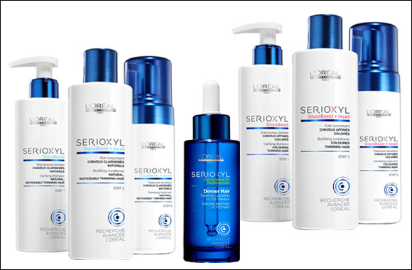 d4c85461a L'Oréal Professionnel launches its first anti-thinning professional  coaching program with SERIOXYL