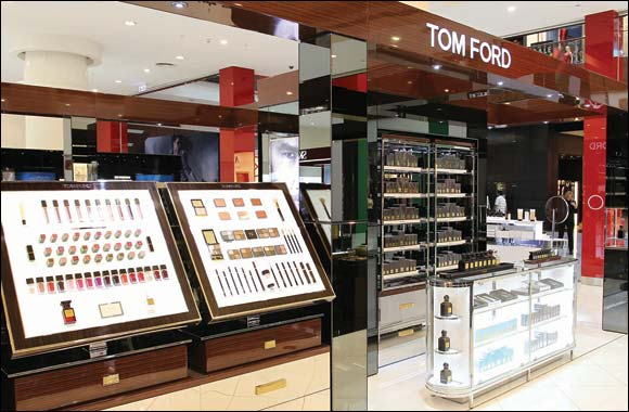 TOM FORD BEAUTY booth now at Paris Gallery, The Dubai Mall