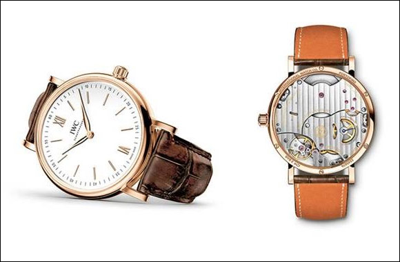 An legant new addition to the Portofino Collection from IWC Schaffhausen