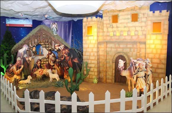 Joyalukkas creates the Biggest Christmas crib