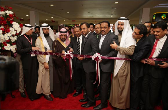 Malabar Gold & Diamonds opened its 7th showroom in Saudi Arabia with fabulous inaugural offers