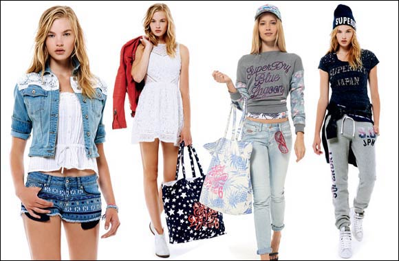 Superdry delves deep into the SS15 collection to deliver its most streamlined and established range to date