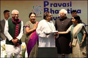 Pravasi Bharatiya Samman award recognizes Bharat Bhai's invaluable community services