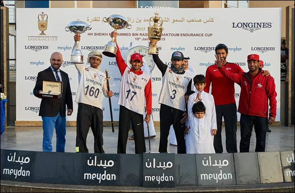 HH Sheikh Hamdan wins the 2015 Endurance Cup Presented by Longines